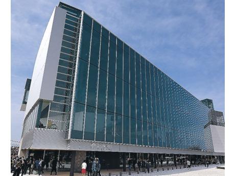 環水公園となりにオープン!富山県美術館