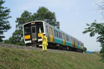 JR東日本 東北本線の列車見張スタッフ
