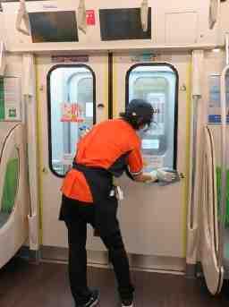 長津田(電車車両清掃)