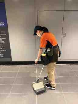 渋谷駅清掃