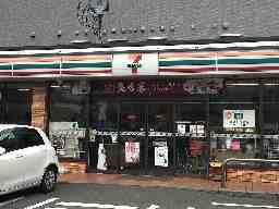 セブンイレブン A 福岡千早東駅前店 B 福岡青葉2丁目店