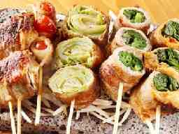 <はかた野菜巻き串・餃子>きじょうもん