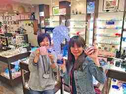 琉球ガラス専門店 くば笠屋 平和通り店・国際通り店