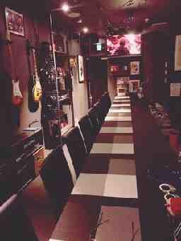 guitar music barよって小屋