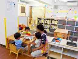 ハッピールーム東京北部病院保育室