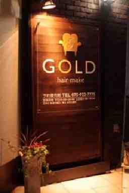 GOLD hair make