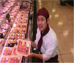 プレッセ 田園調布店 生鮮食品加工・品出し