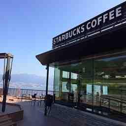 スターバックス コーヒー 諏訪湖サービスエリア 店